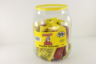 HANNAHS PICKLED SAUSAGE .99 20CT