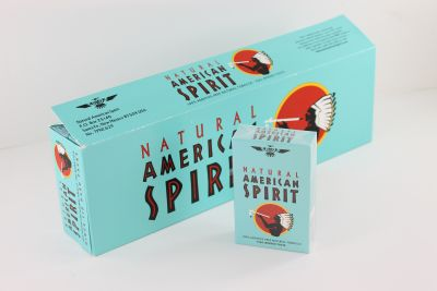 AM SPIRIT NAT BLUE BOX