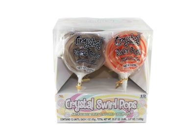 SWIRL POPS 3oz 48CT WITH STAND