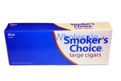 SMOKERS CHOICE BLUE LT HARD PK