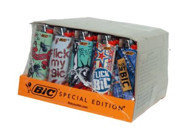 BIC LIGHTERS FLIC MY BIC 50CT